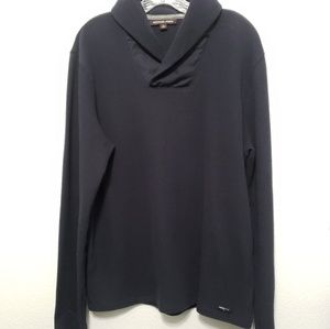 Michael Kors Sweaters - Michael Kors | Dark Blue Thermal Sweater